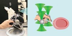 Conceptual representation of a highly nimble micromanipulation experimental setup.